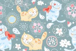 Коты, дизайн #07997