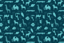 Животные, дизайн #08008