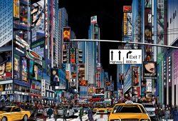 Вечерний мегаполис, дизайн #08012