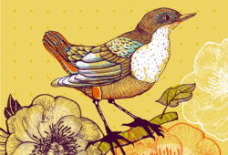Птица, дизайн #08023