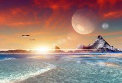 Другая планета, дизайн #08034