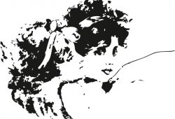 Девочка, дизайн #08069