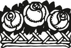 Корзина цветов, дизайн #08077