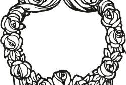 Цветочный венок, дизайн #08084