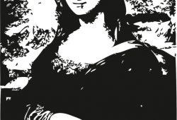 Мона Лиза, дизайн #08089