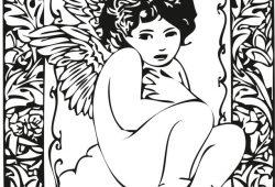 Ангел, дизайн #08090
