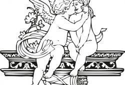 Ангелочки, дизайн #08091