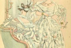 Старинная открытка, дизайн #08127