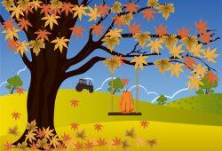 Осень, дизайн #08145