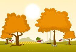 Осенний пейзаж, дизайн #08146