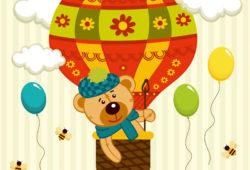 Воздушный шар, дизайн #08158