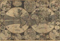 Старинная карта, дизайн #08269