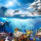 Подводный мир, дизайн #08602