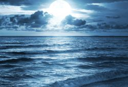 Ночное море, дизайн #08607