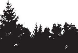 Лес, дизайн #0850817