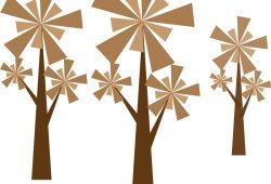 Деревья, дизайн #0851617