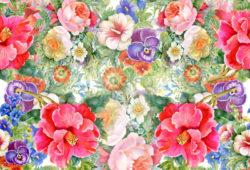 Цветы, дизайн #0859317