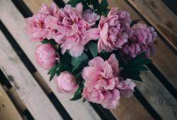Розовый букет, дизайн #0859717
