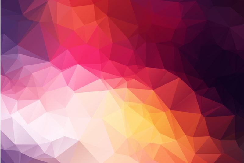 Римские шторы Треугольники, дизайн #08730