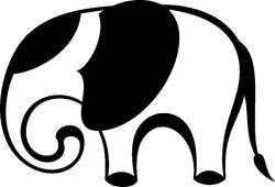 Слон, дизайн #08780