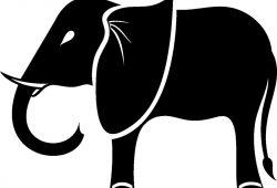 Слон, дизайн #08785