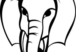 Слон, дизайн #08786