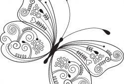 Бабочка, дизайн #08801