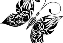 Бабочка, дизайн #08802