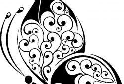 Бабочка, дизайн #08807