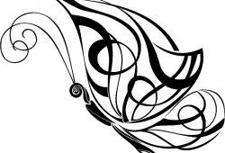 Бабочка, дизайн #08812