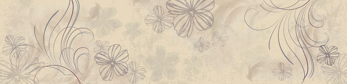 Скинали для кухни Цветы, дизайн #08823