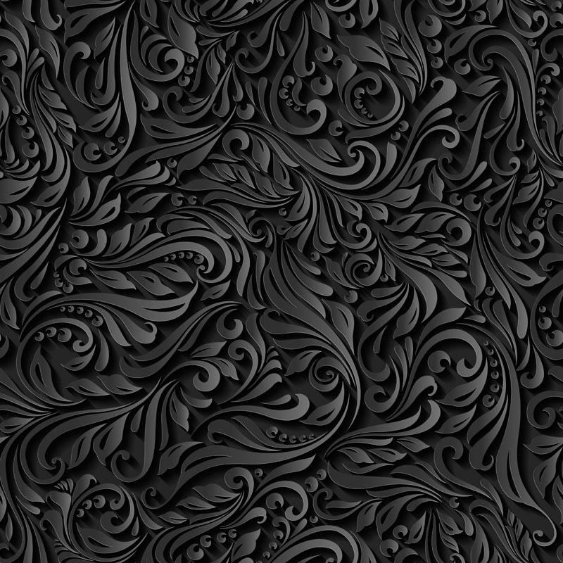 Японские панели Завитки, дизайн #08865