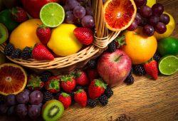 Корзина с фруктами, дизайн #08872