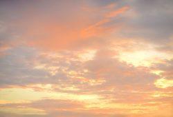 Закатное небо, дизайн #08877