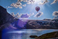Воздушный шар, дизайн #08879