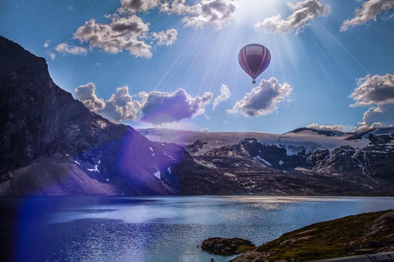Постеры Воздушный шар, дизайн #08879