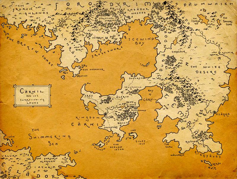 Фотообои под заказ Древняя карта, дизайн #09192