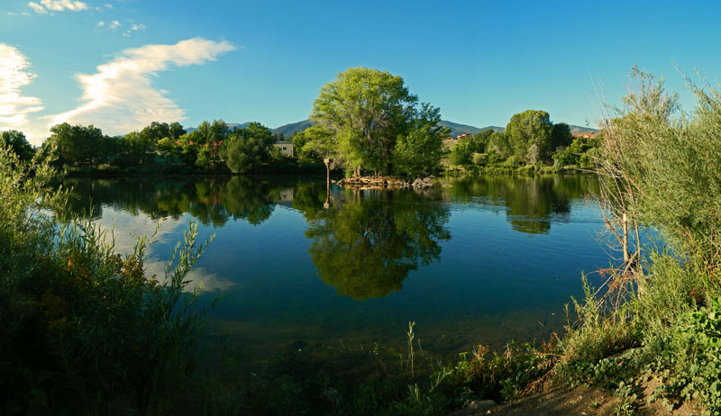 Фотообои под заказ Озеро, дизайн #09218