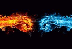 Огонь и лед, дизайн #09228