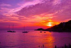 Море закат, дизайн #09239