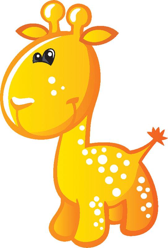 Наклейки Жираф, дизайн #09285