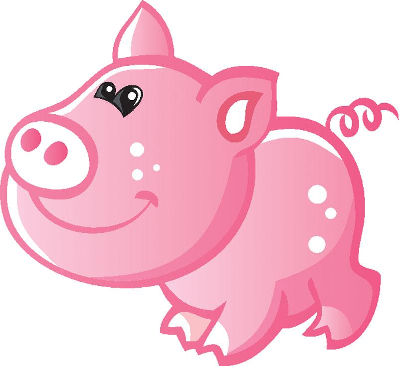 Наклейки Свинка, дизайн #09292